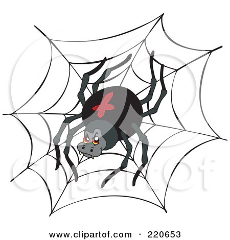 Royalty-Free (RF) Black Widow Clipart, Illustrations, Vector ...