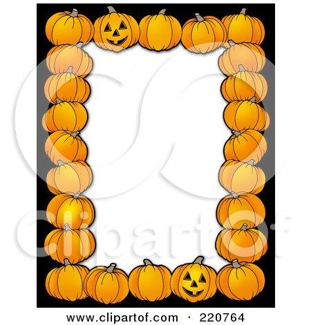Royalty-Free (RF) Halloween Frame Clipart, Illustrations, Vector ...