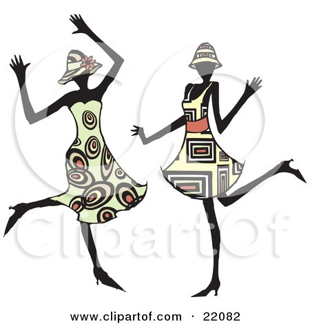 Free Clipart Black Women Wearing Hats Royalty-Free (RF...
