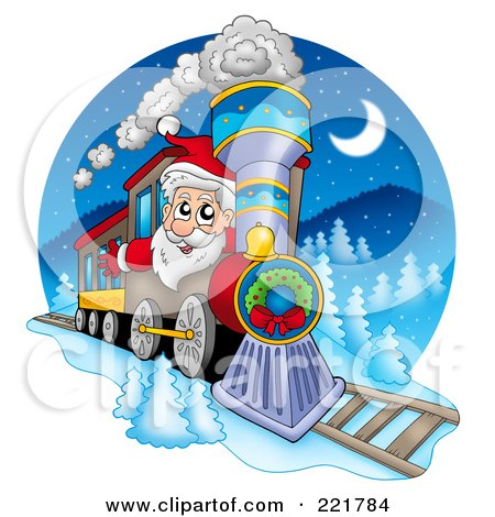 polar express train clipart