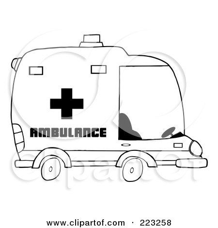 royalty free rf emergency vehicle clipart illustrations vector graphics 1. Black Bedroom Furniture Sets. Home Design Ideas