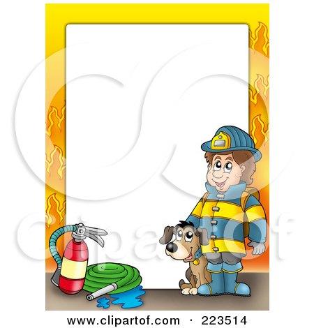 Fireman Clip Art Borders