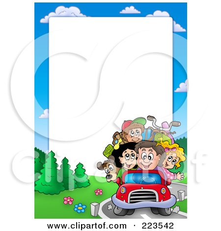 driving family border frame around white space posters angels clipart black and white angels clip art for christmas free