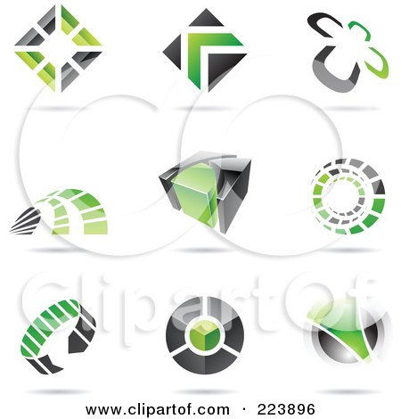green and black logo - photo #18