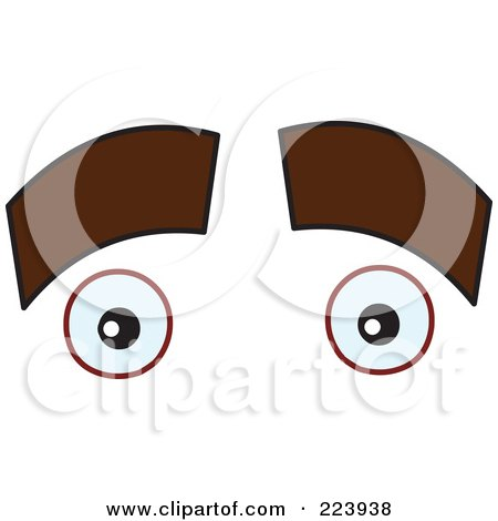 Royalty-Free (RF) Clipart of Eyebrows, Illustrations, Vector Graphics ...