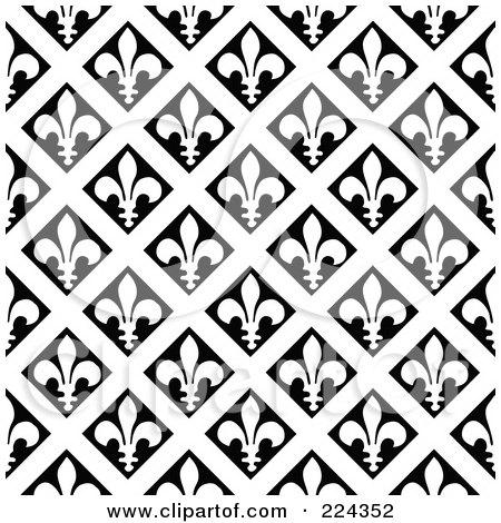 Mod The Sims - Fleur-de-lis pattern