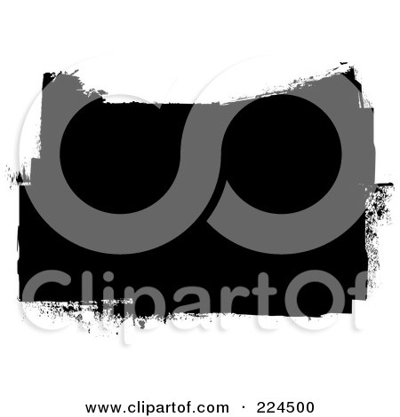 Royalty-Free (RF) Clipart Illustration of a Black And White Grunge Background by michaeltravers