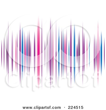 Royalty-Free (RF) Clipart Illustration of a Colorful Equalizer Background by michaeltravers
