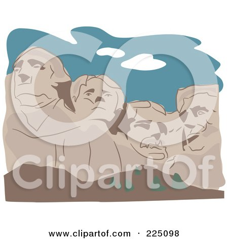 Royalty-Free (RF) Mt Rushmore Clipart, Illustrations, Vector ...