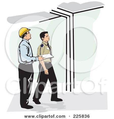 Fire Inspector Clipart