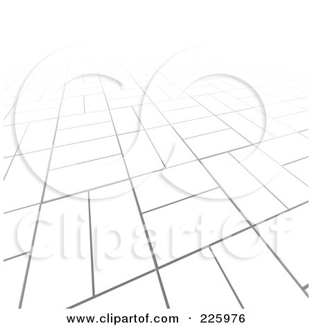 Royalty-Free (RF) Clipart Illustration of a 3d Abstract Background Of White Blocks by Jiri Moucka