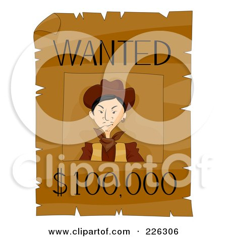 Wild West Wanted Poster Font