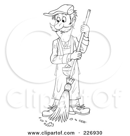 Royalty Free Rf Clipart Illustration Of A Cartoon Happy