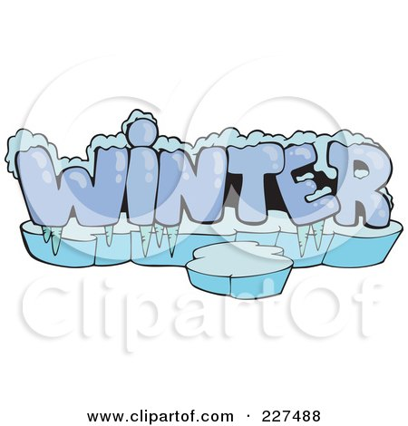 Royalty free rf winter clipart illustrations vector for Clipart words