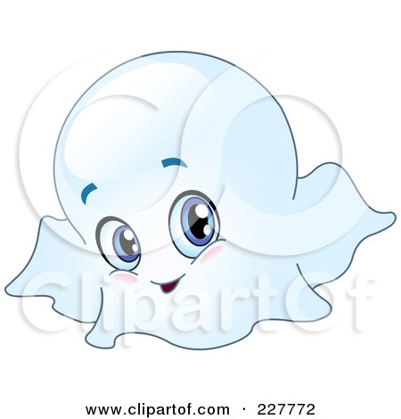Boy Ghost Clipart