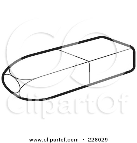 eraser clipart black and white. preview clipart eraser black and white w