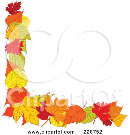 Royalty-Free (RF) Fall Border Clipart, Illustrations, Vector ...
