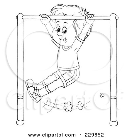 Recess Coloring Pages Clip Art - Clipart1001 - Free Cliparts | 470x450