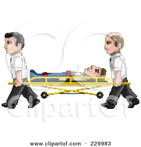 Royalty-Free (RF) Paramedic Clipart, Illustrations, Vector Graphics #1
