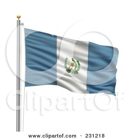 Royalty-Free (RF) Guatemala Flag Clipart, Illustrations, Vector ...