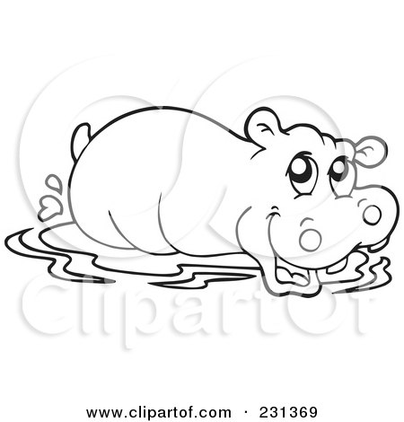 hippo 999 coloring pages online for kid hippo coloring pages 95