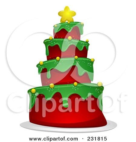 Christmas Tree Cake Posters, Art Prints