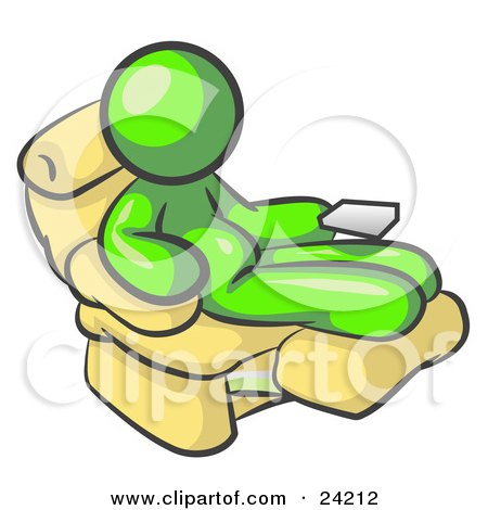 Chubby And Lazy Lime Green Man With A Beer Belly Sitting In A Recliner Chair With His Feet Up by Leo Blanchette  sc 1 st  Clipart Of & Royalty-Free (RF) Beer Belly Clipart Illustrations Vector ... islam-shia.org