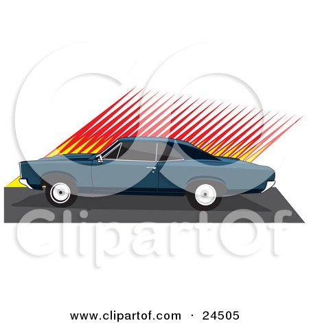 clipart illustration of a rear view of a red chevrolet corvette with rh clipartof com corvette clipart logo corvette clip art cars