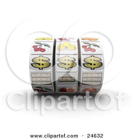 clipart 3d fruit slot machine royalty free vector illustration by atstockillustration 1065887. Black Bedroom Furniture Sets. Home Design Ideas