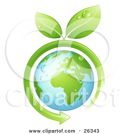 http://images.clipartof.com/small/26343-Clipart-Illustration-Of-Wet-Green-Leaves-Sprouting-From-A-Green-Arrow-Circling-Around-The-Earth.jpg