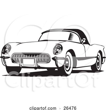 Royalty-Free (RF) Chevrolet Corvette Clipart, Illustrations ...