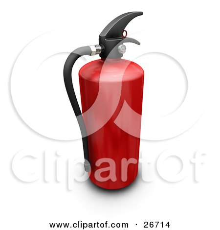 Royalty-Free (RF) Fire Extinguisher Clipart, Illustrations, Vector ...