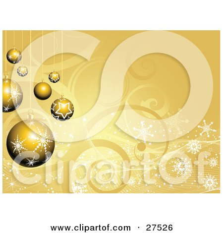 Month Baby Picture Ideas on Royalty Free Christmas Clipart Picture Of A Group Of Gold Snowflake