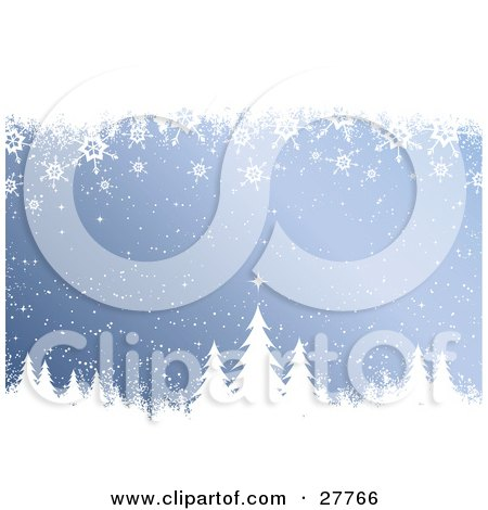 Falling Snowflake Illustration And Snowflakes Falling