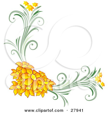 Royalty Free RF Clipart of Corners Illustrations