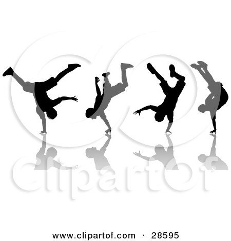 Royalty-Free (RF) Breakdancing Clipart, Illustrations, Vector ...