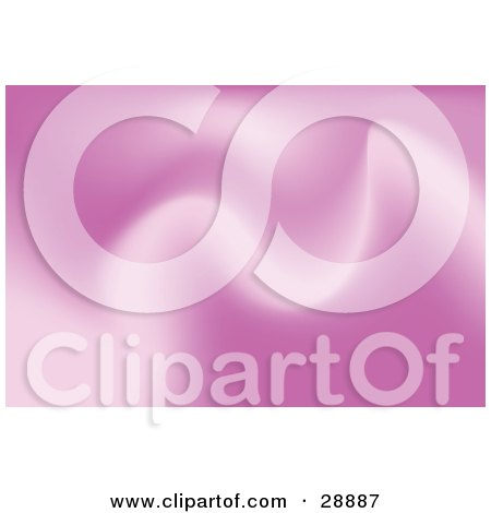 Clipart Illustration of a Background Of Soft Pink Waves by Tonis Pan