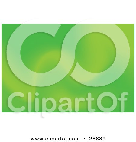 Clipart Illustration of a Background Of Soft Green Waves by Tonis Pan