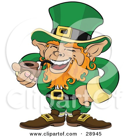 Lucky Golden Penny Coin Clipart Illustration by Geo Images