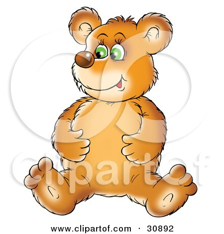 http://images.clipartof.com/small/30892-Clipart-Illustration-Of-A-Bear-Cub-Sitting-On-The-Floor-And-Rubbing-His-Full-Tummy-After-Eating-A-Meal.jpg