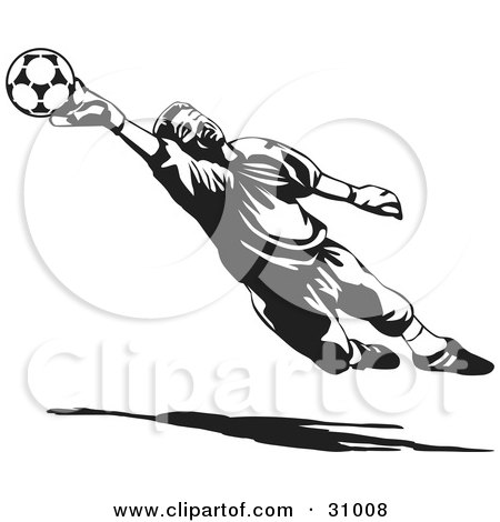 http://images.clipartof.com/small/31008-Clipart-Illustration-Of-A-Goal-Keeper-Blocking-A-Ball-In-Black-And-White.jpg