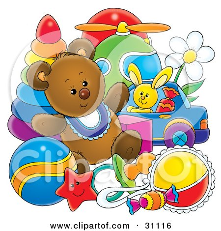 Royalty-Free (RF) Baby Nursery Clipart, Illustrations, Vector ...