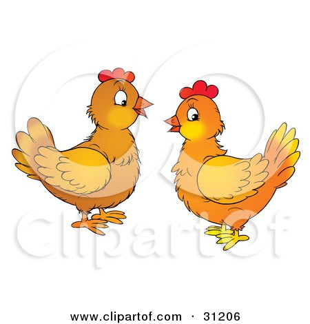 Royalty-Free (RF) Hen Clipart, Illustrations, Vector Graphics #4