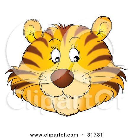 Royalty Free Rf Stock Illustration Of A Cartoon Tiger
