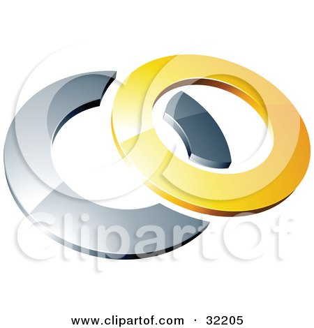 Yellow Circle Logo Pre Made Logo of a Yellow