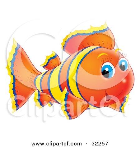 Cute Submarine Clipart Clipart Illustration of a Cute