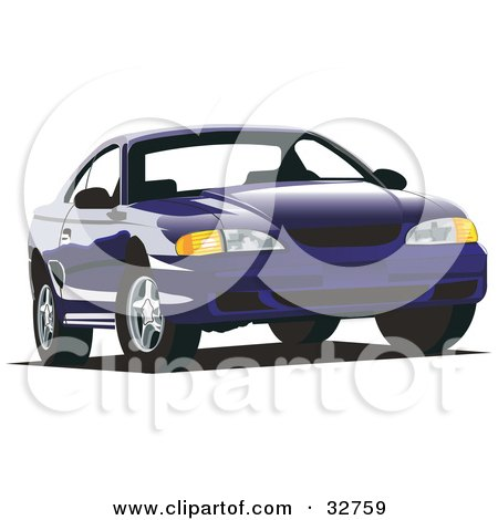 Royalty-Free (RF) Ford Mustang Clipart, Illustrations, Vector ...