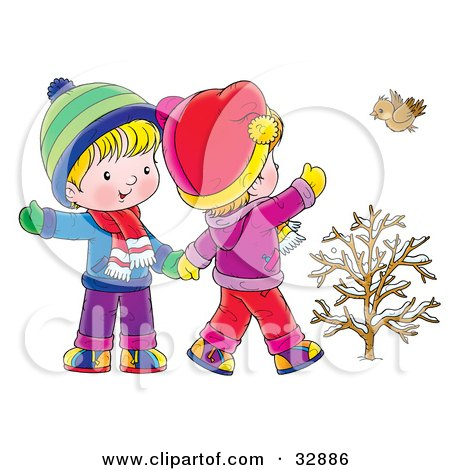 Girl   Holding Hands on Kids A Boy And Girl Holding Hands Clip Art Image Is Over On The