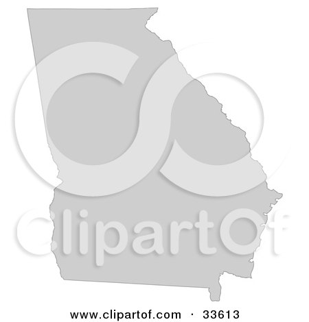 United States Map Silhouette
