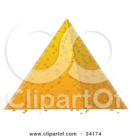 Egyptian Pyramids Clip Art http://www.clipartof.com/portfolio/alexbannykh/illustration/egyptian-pyramid-34174.html
